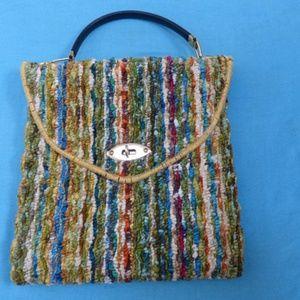 NWT Rainbow Vintage Jerry Terrence Carpet Bag 1964